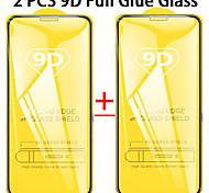 economico -telefono Proteggi Schermo Apple iPhone 12 iPhone 11 iPhone 12 Pro Max iPhone XR iPhone 11 Pro Vetro temperato 1 pezzo Alta definizione (HD) Durezza 9H A prova di esplosione Proteggi-schermo frontale