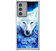 abordables -Animal Cas Pour Samsung Galaxy S21 Galaxy S21 Plus Galaxy S21 Ultra Modèle unique Étui de protection Antichoc Coque TPU
