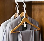 abordables -dortoir multifonctionnel de crochet de stockage de cintre avec la finition de support de garde-robe de maison d'étudiant suspendu