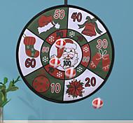 abordables -décorations de noël jouet de noël boule de fléchettes créatif nouveau jouet pour enfants jeu de fléchettes cadeau