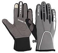 economico -guanti da ciclismo invernali touch screen guanti da ciclismo antivento caldi guanti da allenamento per il freddo per uomo donna (grigio, m)