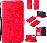 economico -telefono Custodia Per LG Integrale Custodia in pelle Custodia flip LG Stylo 4 LG Stylo 5 LG K50 LG K61 Stilo 6 K41S K51S Porta-carte di credito Con chiusura magnetica A calamita Floreale Tinta unica