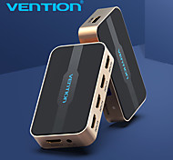 economico -vention hdmi splitter switch 5 input 1 output switcher hdmi 5x1 per xbox 360 ps4 / 3 smart android hdtv 4k 5 port hdmi adapter