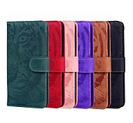 economico -telefono Custodia Per LG Integrale LG Stylo 5 LG Q60 LG K50 LG K61 K41S K51S A portafoglio Porta-carte di credito Resistente agli urti Tinta unita Animali pelle sintetica TPU
