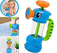 abordables -jouet de bain pour enfants, pompe de pompage de l'eau de canard de bain douche piscine jouant des jouets pour enfants bébé (bleu)