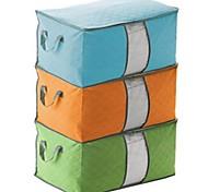 economico -2 pezzi durevole contenitore di stoffa contenitore organizer trapunta non tessuto sotto il letto sacchetto di immagazzinaggio sacchetto di immagazzinaggio scatola di bambù casa sacchetto di