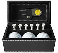 abordables -Accessoires de golf faux cuir Pour Golf Entraînement Cadeau Compétition