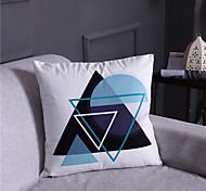 abordables -housse de coussin satin de soie doux décoratif carré housse de coussin taie de coussin taie d'oreiller pour canapé chambre 45 x 45 cm (18 x 18 pouces) qualité supérieure lavable en mashine