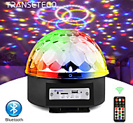 abordables -9 couleurs Bluetooth MP3 LED Disco Light Ball Party Light Lampe de scène rotative DJ Projecteur Laser Music Play Soundlights Lampe Disco