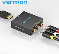 economico -vention convertitore da hdmi ad av compatibile da hdmi a rca cvbs adattatore video l/r 1080p compatibile hdmi switch con mini cavo di alimentazione usb per tv box compatibile av hdmi
