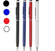 abordables -Szkinston universel 2in1 stylet de stylo à écran tactile en métal spécial avec stylo à bille capacitif pour iphone / ipad / samsung / moto / nokia / huawei / xiaomi / oneplus / vivo / oppo / sony /