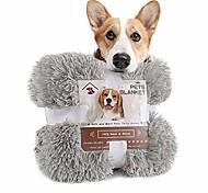 economico -coperta per cani soffice in velluto di lusso, coperte per animali in pile sherpa extra morbide e calde per cani gatti, fodera per cuccioli in pelliccia sintetica peluche, 20 `` x 30 '' bianco crema