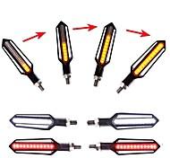 economico -Motocicletta LED Luce di svolta Lampadine Per Universali Tutti gli anni 2 pezzi