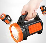 abordables -882A Lampe LED USB Lampes de poche 500 lm LED Émetteurs Portable LED Transport Facile Durable Camping / Randonnée / Spéléologie Usage quotidien Pêche 882A vert sans éclairage latéral 882B feu latéral