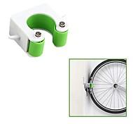 economico -Cavalletto Supporto da parcheggio Per Bici da strada Ciclismo Plastica e metallo Verde 2 pcs