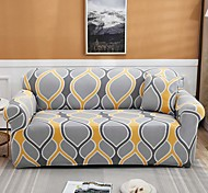 abordables -1 pièce housse de canapé housse de canapé protecteur de meuble housse de canapé extensible doux tissu jacquard spandex super fit pour canapé 1 ~ 4 coussin et canapé en forme de L, facile à installer