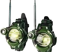 abordables -1228-7 Alarme d'urgence / Double Veille / Appel de Groupe Portable 1,5 - 3 km 1,5 - 3 km Talkie walkie Radio bidirectionnelle