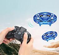 abordables -Mini hélicoptère volant ufo rc drone main détection avion modèle électronique hélicoptère flayaball jouets petit drone