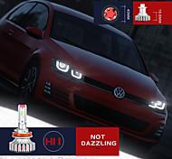 abordables -2pcs phare LED 12V voiture 24v camion 20w 6000k 5600 lumens Kit de conversion de puces CSP extrêmement lumineux IP67H1 H4 H7 H11 H13 AL Matériel