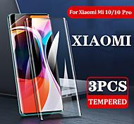 abordables -3pcs verre trempé pour xiaomi mi 10 / mi10 / 10 pro protecteur d'écran complet pour xiaomi mi 10 verre