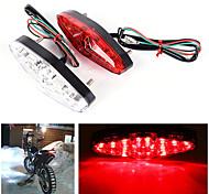 economico -Motocicletta / Auto LED Fanale posteriore Lampadine 3 W Per Moto / Universali Tutti gli anni 2 pezzi