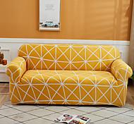 abordables -Housse de canapé 1 pièce housse de canapé housse de meuble protecteur de canapé extensible doux housse de canapé spandex tissu jacquard super fit pour canapé 1 ~ 4 coussin et canapé en forme de L,