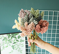 economico -6 pezzi di fiori artificiali bouquet da tavolo display festa di nozze fiori decorativi bouquet da sposa 15 * 31 cm