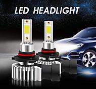 economico -2 pz csunnylight h7 h11 9005 led lampadine per fari auto 36w 6600lm auto 12v cob luci led