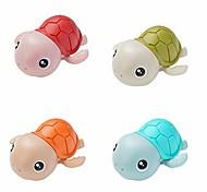 abordables -jouet de bain pour bébé jouets de bain à enroulement jouets de baignoire de tortue pour les tout-petits jouets flottants matériel écologique (4xturtle)