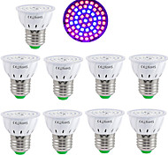 abordables -10pcs 60leds phyto led élèvent la lumière lampe plante lumière e27 fitolamp e14 lampe led pour plantes