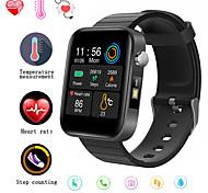 abordables -F68 Smartwatch Montre Connectée pour Android iOS Samsung Apple Xiaomi Bluetooth 1.54 pouce Taille de l'écran IP68 Niveau imperméable Imperméable Moniteur de Fréquence Cardiaque Mesure de la pression