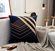 abordables -Haute texture bronzage broderie taie d'oreiller couverture maison canapé taie d'oreiller couverture salon chambre canapé housse de coussin