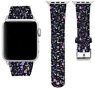 economico -Cinturino intelligente per Apple  iWatch 1 pcs Cinturino sportivo Vera pelle Sostituzione Custodia con cinturino a strappo per Apple Watch Serie 6 / SE / 5/4 44 mm Apple Watch Serie 6 / SE / 5/4 40mm