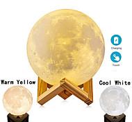 abordables -Impression 3D lampe de lune enfants veilleuse tactile changer la lumière de la galaxie comme cadeaux