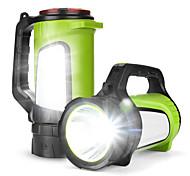 abordables -881A Lampe LED USB Lampes de poche 1200 lm LED Émetteurs Portable LED Transport Facile Durable Camping / Randonnée / Spéléologie Usage quotidien Pêche 881A 881B 881C