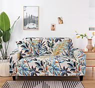 abordables -Housse de canapé Plantes / Imprimé / Fleurie Teinture Polyester Literie