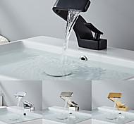 abordables -robinet de lavabo de salle de bain - finitions peintes en cascade