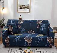 abordables -feuille d'impression 1 pièce housse de canapé housse de canapé protecteur de meubles housse extensible souple tissu jacquard spandex super fit pour canapé 1 ~ 4 coussin et canapé en forme de l, facile