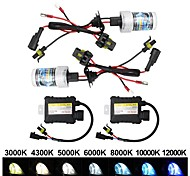 economico -otolampara 1 kit dc 12v 55w 4800lm hid xenon kit h7 h1 h3 4300k 6000k 8000k 10000k 600% oem car lightness ip68 waterproof car hid conversion kit h8 h9 h11 9005 9006