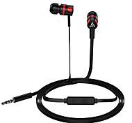 """economico -LITBest T2 Auricolari in-ear cablato """"Jack audio da 3,5 mm"""" Dotato di microfono Con il controllo del volume sweatproof per Apple Samsung Huawei Xiaomi MI per audio premium"""