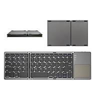 economico -mini tastiera pieghevole bluetooth tastiera wireless pieghevole con touchpad per windows tablet android ios