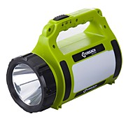abordables -5991C Lampe LED USB Lampes de poche 1000 lm LED Émetteurs Portable LED Transport Facile Durable Camping / Randonnée / Spéléologie Usage quotidien Pêche Vert