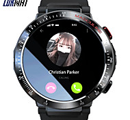 abordables -Z28 Smartwatch Montre Connectée pour Android iOS Samsung Apple Xiaomi Wi-Fi Bluetooth 1.6 pouce Taille de l'écran IPX-1 Niveau imperméable Ecran Tactile GPS Moniteur de Fréquence Cardiaque Sportif