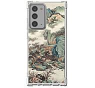 economico -Stile cinese Astuccio Per Samsung Galaxy S21 Galaxy S21 Plus Galaxy S21 Ultra Design unico Custodia protettiva Resistente agli urti Per retro TPU