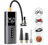 economico -nuova pompa gonfiabile mini compressore d'aria portatile con illuminazione a led gonfiatore per pneumatici pompa d'aria a filo 12v 60w per palline da bicicletta per auto
