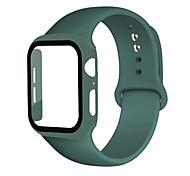 economico -Cinturino intelligente per Apple  iWatch 1 pcs Cinturino sportivo Silicone Sostituzione Custodia con cinturino a strappo per Apple Watch Serie 6 / SE / 5/4 44 mm Apple Watch Serie 6 / SE / 5/4 40mm