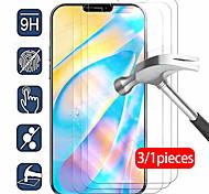 economico -telefono Proteggi Schermo Apple iPhone 12 iPhone 11 iPhone 12 Pro Max iPhone XR iPhone 11 Pro Vetro temperato 3 pezzi Alta definizione (HD) Durezza 9H A prova di esplosione Proteggi-schermo frontale