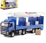 abordables -Alliage Camion porte-conteneurs Véhicule de construction de camion jouet Jouet de voiture de transport Simulation Musique et Lumière Tous Enfants Adultes Jouets de voiture
