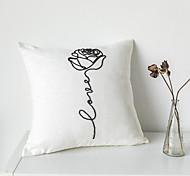 abordables -housse de coussin chenille abstrait doux décoratif carré housse de coussin taie de coussin taie d'oreiller pour canapé chambre 45 x 45 cm (18 x 18 pouces) qualité supérieure lavable en mashine