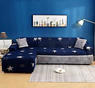 economico -star print 1 pezzo copridivano copridivano copridivano protezione per mobili fodera per divano morbido elasticizzato fodera in spandex tessuto jacquard super adatto per divano 1 ~ 4 cuscino e divano
